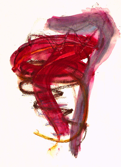 Sourcing 1. small abstract watercolor on paper