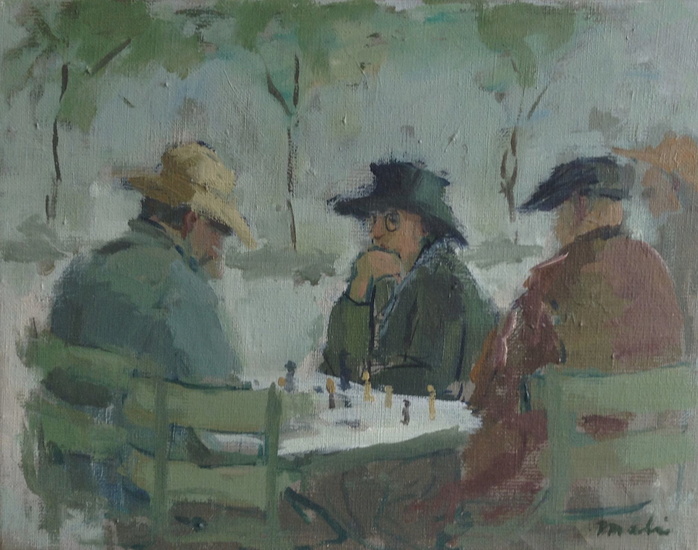 Chess Players in Paris