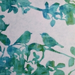 Love birds, groen