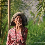 Ibu Sopor Balinese old woman
