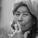 Ibu Sopor 3 Balinese old woman