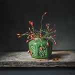 Gingerjar with rosehips