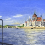 The Danube and Parliament