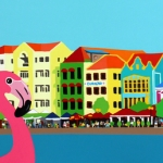 Flamingo's in Willemstad
