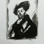 Study after Rembrandt 2