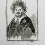 Study after Rembrandt 1