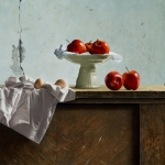 Still Life with Apples and Eggs