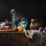 Still Life with Glass and Dust