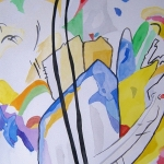 Aquarel 13 - Abstracte Natuur -