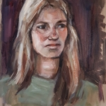Portrait study woman 2