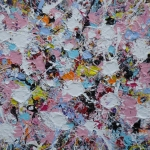 action painting 14 (no 132 vh 40)