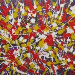 NEW 2019 Action Painting 42 (no 164  vh 12)