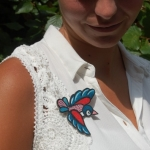 Vogel-broche 01