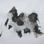 Indian Ink Abstract 005