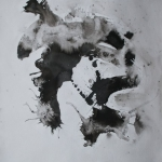 Indian Ink Abstract 007