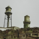 Detroit Blues - Water Tower