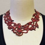 Tekenketting 2 ornament rood