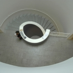 Winding staircase in Berardo Collectie Museum te Lissabon