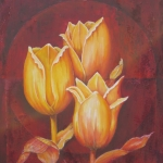 Golden tulips