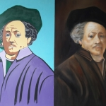 Andy Warhol meets Rembrandt