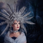 Headpiece Mystic Fantasy Creations/Model Florence Rapati
