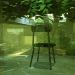Greenhouse -Garden chair -