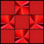 ARK (Abstract Red Kaleidoscope)