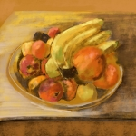 Stilleven met fruit