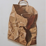 Brown paper shoppingbag