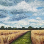 Path in the Wheatfields