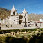 Colca Canyon: Kerk in Chivay