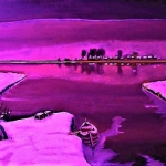 Polder: purple veen