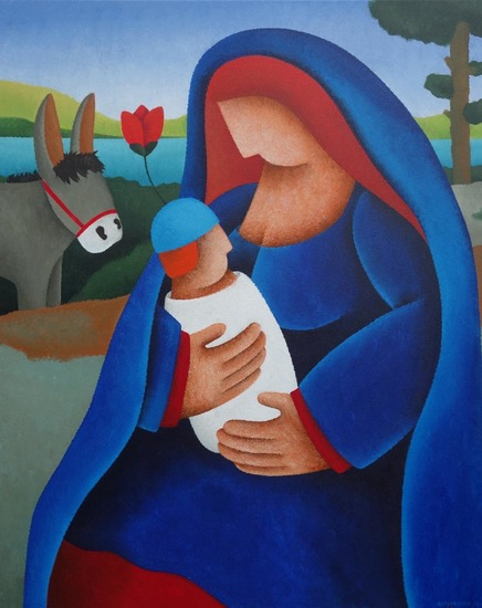 The Rest on the Flight into Egypt II