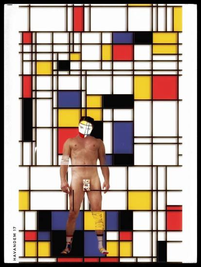 Self as Mondriaan