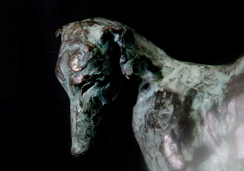 Wheeping whippet (detail)