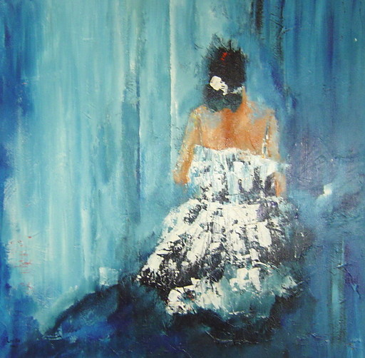 loe sei beks - acryl schilderijen