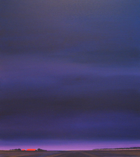 Purple evening