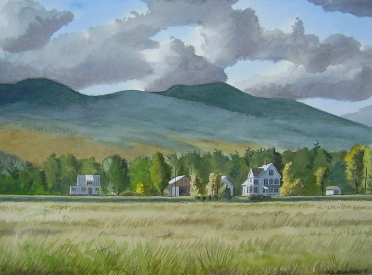 Landschap in New Hampshire