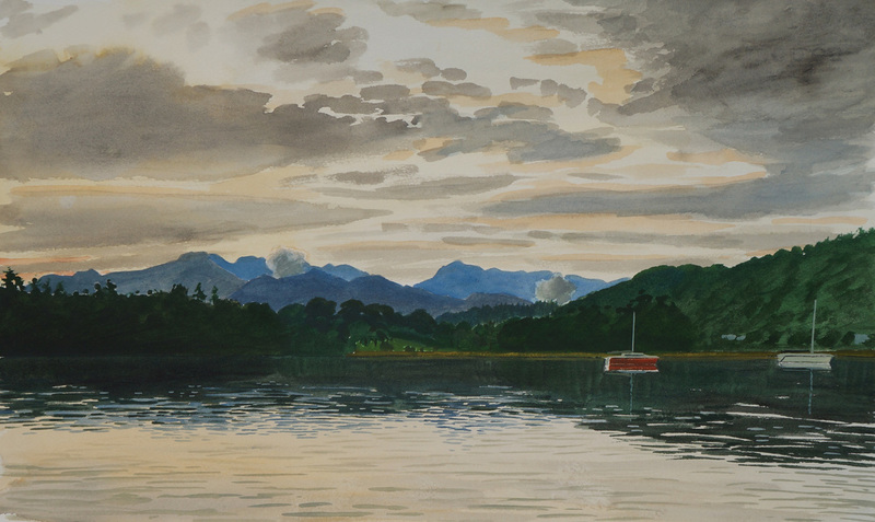 Windermere and the Lakeland Fells