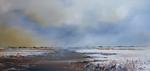 Winterpaintings of mainly dutch landscapes and seaviews, very realistic but with the modern touch so characteristic for this painter