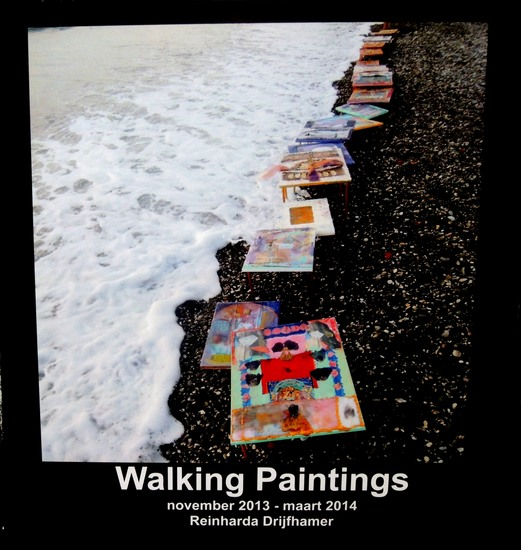 Art Book Walking Paintings
