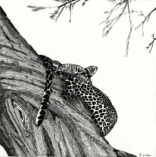 Ink leopard