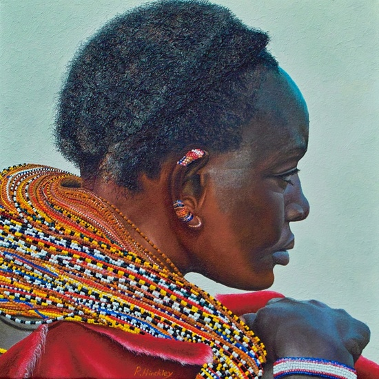 Samburu tribal woman