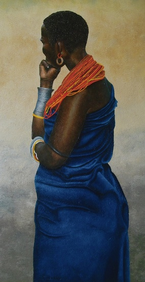 Samburu tribal woman III