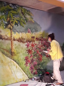 My Trompe L'Oeil murals I made in commission.