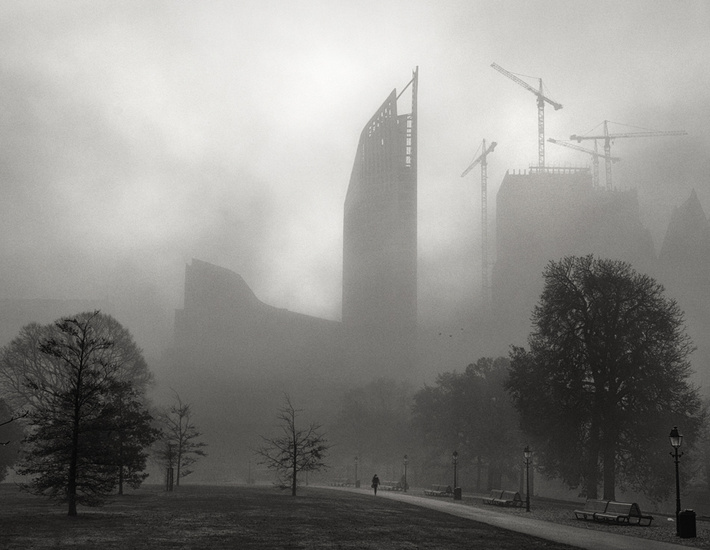 Foggy Morning inThe Hague 3