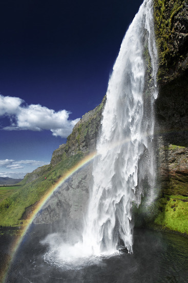 Seljalandsfoss Waterfall 1