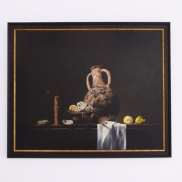 Giclée of Still life with jug and oysters