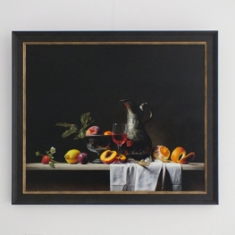 Giclée of Still life with can and fruit