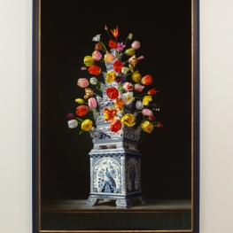 Giclée of Flower still life with Tulip vase